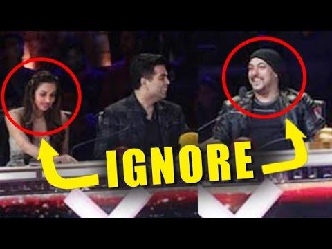 Xxx Mp4 Salman Khan IGNORES Malaika Arora Khan On India S Got Talent Show 3gp Sex