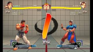 Ultra Street Fighter IV : Ryu vs Chun li