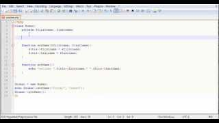 Php Object Constructor Method