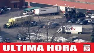 Se reportan al Menos dos Fallecidos en Tiroteo en Aurora illinois, Varios Heridos.