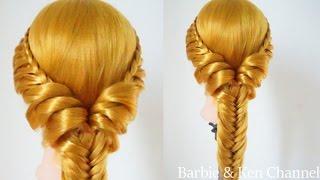 ถักเปียสวยๆ แบบง่ายๆ : Cute and Easy Braid [Ep.8] #hair -  ผมลอนธรรมชาติใช้แค่ที่คาดผม เริ่ดมาก