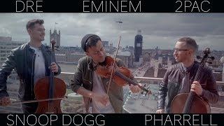 Hip Hop Medley ( Dr. Dre Eminem 2Pac Snoop Dogg Pharrell LMFAO ) Violin Cello Cover Ember Trio