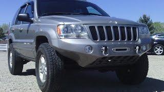 "Homemade Fiberglass Jeep Winch Bumper ""MIG"""