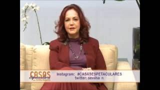 ERICA CAMARGO MOSTROU NO CASAS ESPETACULARES BELA COBERTURA DUPLEX EM SÃO PAULO-Parte 3
