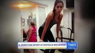 En Despierta America T.V. ¡Exclusiva! Haz el entrenamiento de la Miss Universo de Colombia