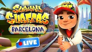 Subway Surfers World Tour 2017 - Barcelona Gameplay Livestream