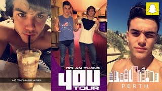 The Dolan Twins Snapchat Stories 21-27th Nov 2016