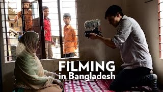 Shoot Day in Bangladesh!