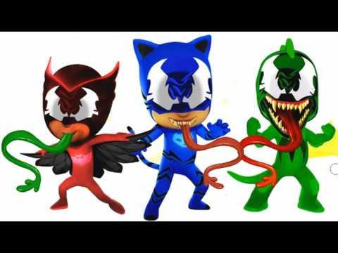 PJ Masks Venom Coloring Pages for Kids    PJ Masks Coloring Pages