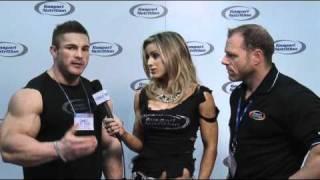 Neil Hill and Flex Lewis - Arnold Classic 2011 Gaspari Interview