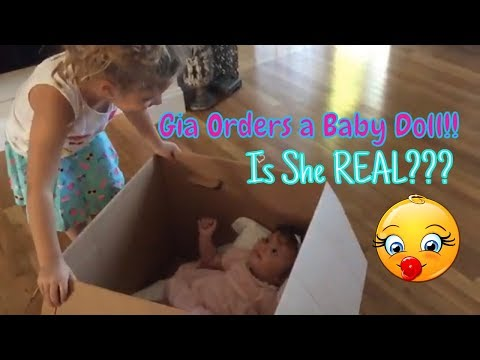 Xxx Mp4 Gia Orders FAVORITE Baby Doll SKIT But When She Comes In The Mail A HUGE SURPRISE Is She REAL 3gp Sex