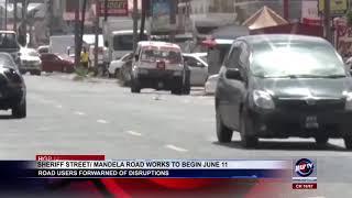 SHERIFF STREET MANDELA ROAD WORKS TO BEGIN JUNE 11