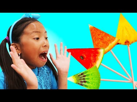 Download Learn Colors with Fruits Song | Wendy Pretend Play Nursery Rhymes & Kids Songs On ELMELODI.CO