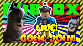 ROBLOX |  Roblox Live! - Batman Takes Over to Raise Awareness for LilBigGamers Game4Heals Event