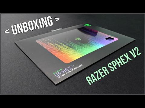 UNBOXING(Q)- RAZER SPHEX V2
