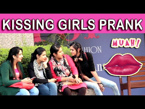 Xxx Mp4 KISSING GIRLS PRANK TST Pranks In India 3gp Sex