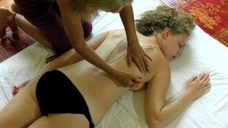 Back Massage Muscle Diagrams & How To Relaxation Techniques Massage Therapy Athena Jezik HD