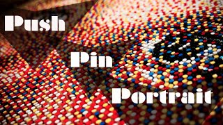 Push Pin Portrait
