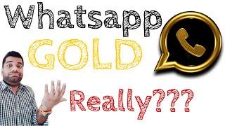 Whatsapp GOLD!!! Really???
