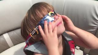 The Most amazing Solar eclipse 2017 with Kids Adventures with Sweetie Fella Aleks