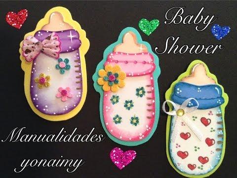 BIBERON O MAMILA PARA BABY SHOWER DE FOAMY O GOMA EVA - hamariweb.uk