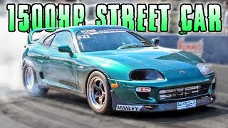 FASTEST Road Worthy Supra in the WORLD!?!?