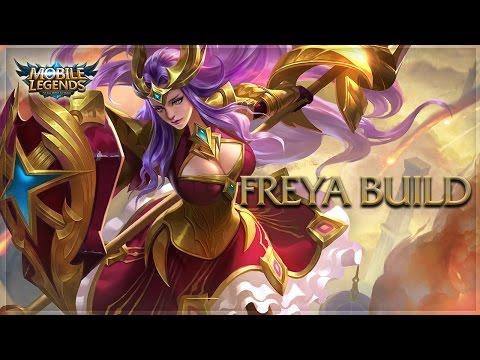 Mobile Legends: FREYA UNSTOPPABLE BUILD