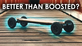 The Perfect Boosted Board Alternative? -- EVOLVE Bamboo GT Review