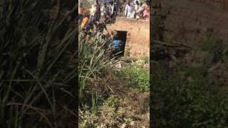 Belthra road nav Jeevan key pass ye durghatna buffalo ke saath.      Irshad report Bithuwa