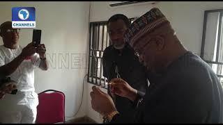 John Momoh Hands Over To New BON Chairman