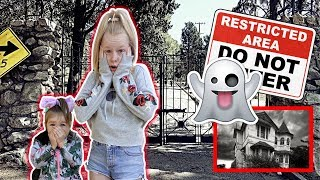EXPLORiNG AN ABANDONED HAUNTED MANSiON!! 😱😱