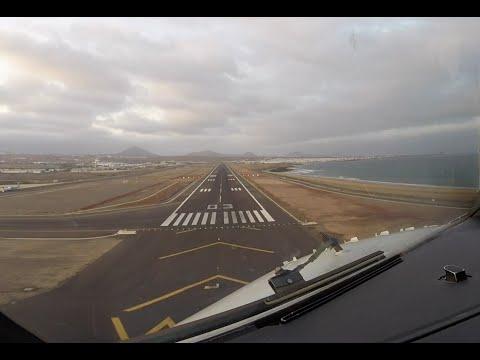 Xxx Mp4 Approach Landing Runway 03 Arrecife Lanzarote Airport ACE GCRR 3gp Sex