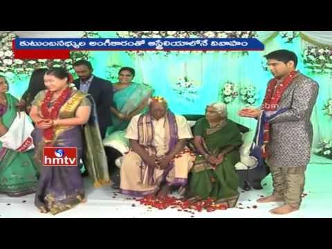 Telugu NRI Love Marriage With Hong Kong Girl in Krishna District | HMTV
