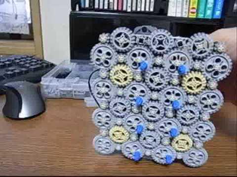 Lego Technic 8 20 24 Teeth Gears Combination