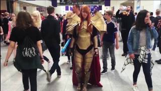 Gamescom 2016 - Combats Cosplay