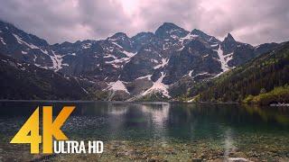 Tatransky National Park, Poland - 4K Nature Documentary without narration with music