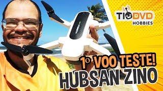 ESTE DRONE É MUITO BOM! HUBSAN ZINO H117S COM GPS GIMBAL CAMERA 4K BRUSHLESS PRIMEIRO VOO TESTE
