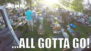 Flea Market Selling - Blowing out Old Inventory Dollar by Dollar