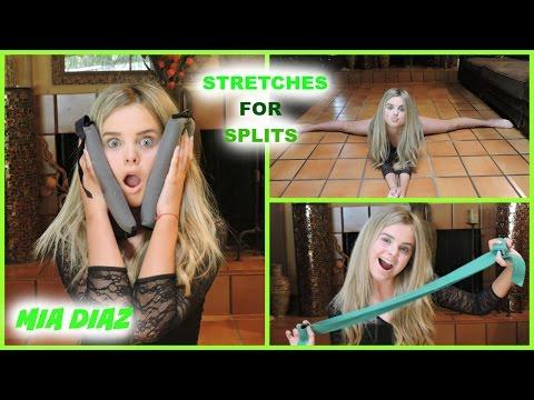 Stretches For Splits Mia Diaz