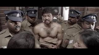 Kaththi Tamil Movie scenes   Farmers commits Sucide   Vijay feels Guilty -Vijay best emotional scene