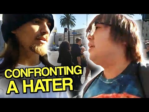 Xxx Mp4 Confronting A HATER In Real Life Hollywood With Text To Speech 3gp Sex