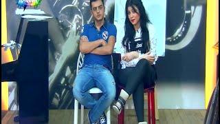 صف المسرح مع بيتي  مشهد حنان الخضر ورفاييل جبور 20/12/2015 ستار اكاديمي 11