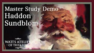 Friday Night Live Haddon Sundblom demo, by Jeffrey Watts