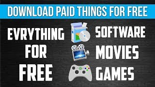 Download anything for free without looking/searching the web..