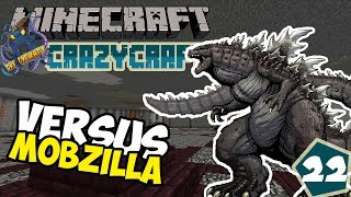 VERSUS MOBZILLA! ~ Crazycraft Modpack Indonesia ep.22
