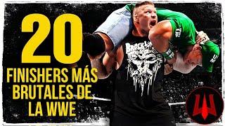 LOS 20 FINISHERS MÁS BRUTALES DE LA WWE