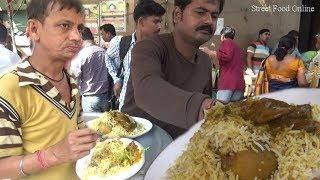 Delicious Tasty Kolkata Chicken Biryani | Who Want to Eat | Street Food Online