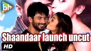 Event Uncut: Trailer Launch Of Shaandaar | Shahid Kapoor | Alia Bhatt | Karan Johar