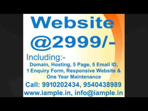 Website designing @2999