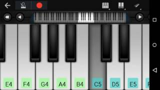 Dheere Dheere Se Meri Zindagi Piano Notes –Yo Yo Honey Singh By Dev